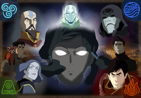 The legend of Korra Wallpaper by Kotrex
