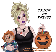 Trick or Treat! by SnowFright