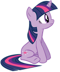 Sitting Twilight Sparkle by Donnyku