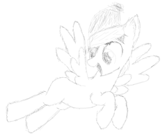 trying to imitate pencil sketch w/ digital drawing by swiftythefluffball