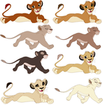lion adoptables Closed all gone by chaisenstarz