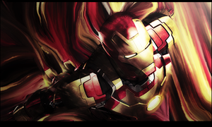 Ironman smudge by GiladAvny