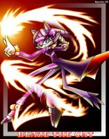 Blaze the cat of the future by tramneo