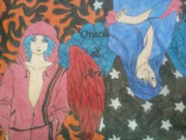 Ares And Oracle One by BrokenLoneWolf09