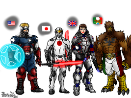 League of Nations (reboot) by Brunofneves