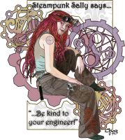 Steampunk Sally - Engineer by ChazKemp