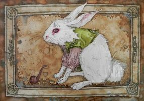 Bilbo the Rabbit by Willuna