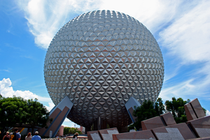 Epcot Spaceship Earth Stock 3 by AreteStock