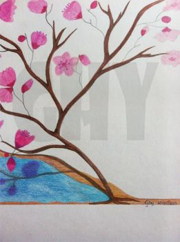 Cherry Blossom by Ghiny