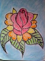 Pastel Rose by My-Freedom-In-Art