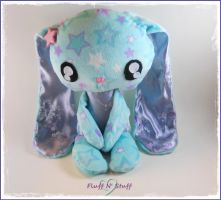 Kawaii Starry Sweet Bunny by SailorMiniMuffin