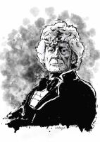 3rd Doctor by donchewliano