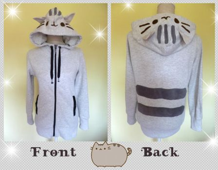 Pusheen Cosplay Hoodie by Crafty-lil-vixen