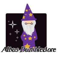 weeny dumbledore by LittleDogStar