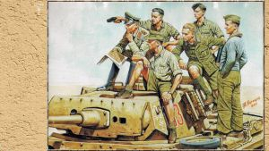 3rd Reich LDR Rommel and Panzer Crew by PanzerBob