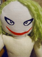 Joker Plushie WIP by Ya-u