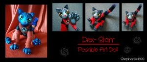 Dex-Starr Posable Art Doll Commission by stephanie1600