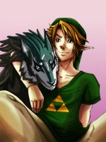 Link and Link by neko-rulz