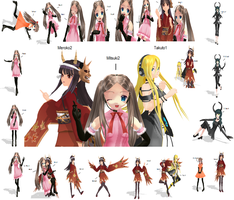 Full Moon HUGE Pose Pack DL by Anime-Base-Creator