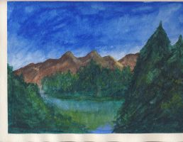 Watercolor painting 2 by RoyPrince