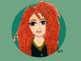 Merida by PadfootVith