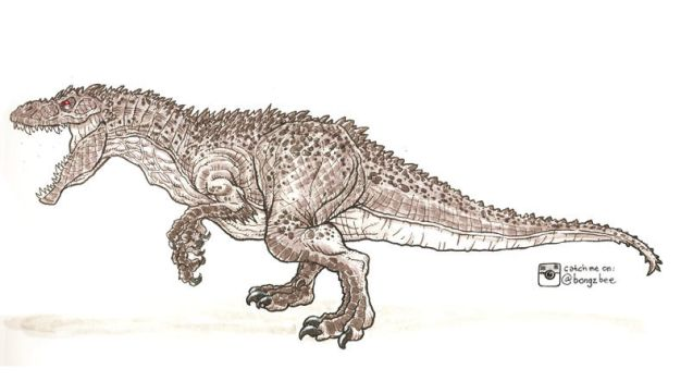 Indominus Rex: Pike by BongzBerry