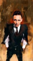 Tom Hiddleston by Namecchan