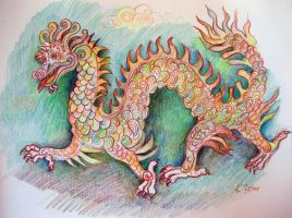 Chinese Dragon by karincharlotte