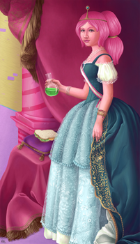 Princess Bubblegum by SmiteTheeWithApples