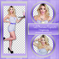 Photopack png Lali-Mariana Esposito by Niicole9