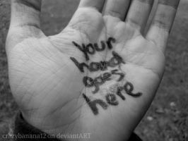 365 Project-Day 63: Your Hand by hourglass-paperboats