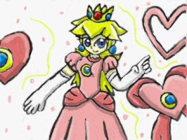 Princess Peach by SurgeCraft