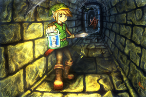 Dungeon Link by Xlembros