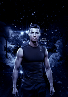 CR7 HD Poster by neymarmer