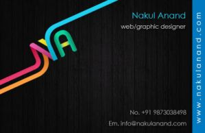 My Business Cards by nakulanand