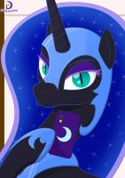 Selfie Ponies #1: Nightmare Moon (1) by Moonlight-Pen