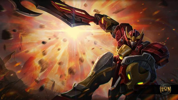 Invader Kane - Heroes of Newerth by alben