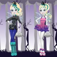 Ever After High Faybelle Thorn Dress Up by heglys