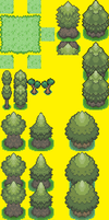 Pokemon Tileset by AlbionDex
