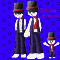 One Piece oc:Billy the Snowman by YingYang-girl
