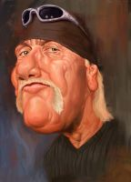 hulk hogan by Azrail-GX