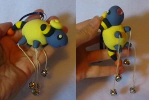Mareep ornament by Foureyedalien