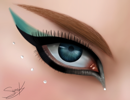 Eye Painting by Suna004