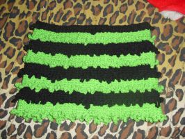 Black and Green Skirt - 2010 by BreachofReality