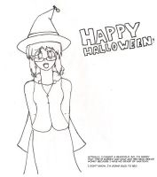 Halloween doodle because I'm ill by GlassMan-RV