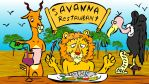 Savanna Restaurant by ARTBoY-M