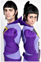 THE WONDER TWINS 1 by EzeMendez