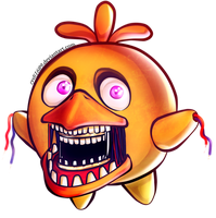 Kirby Withered Chica - Gifts from Dreamland collab by rydi1689