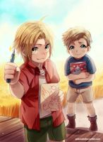 +FMA Summer memories+ by goku-no-baka