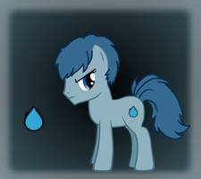 Rain Drop (Crossfire's Brother) by darksoma905